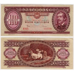 (171g) Hungria. 1984. 100 Forint (EBC)