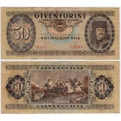 (170c) Hungria. 1975. 50 Forint (MBC)