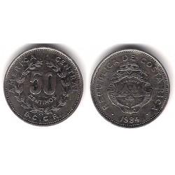 (209.2) Costa Rica. 1984. 50 Céntimos (MBC)