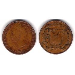 (71) República Dominicana. 1971. 1 Centavo (BC+)
