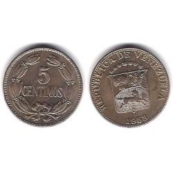 (Y38.1) Venezuela. 1958. 5 Centimos (MBC+)
