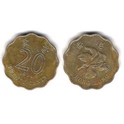 (67) Hong Kong. 1994. 20 Cents (BC)