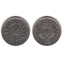 (211.2) Costa Rica. 1984. 2 Colones (MBC)