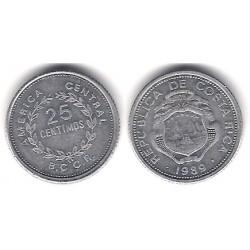 (188.3) Costa Rica. 1989. 25 Céntimos (MBC)