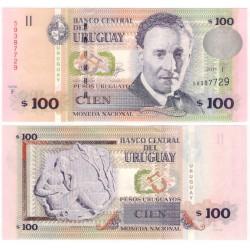 (88b) Uruguay. 2011. 100 Pesos (SC)