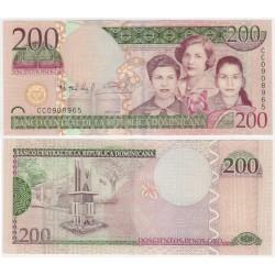 (178) República Dominicana. 2009. 200 Pesos Oro (SC)
