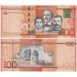 (190d) República Dominicana. 2017. 100 Pesos (SC)