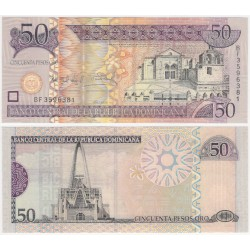 (176a) República Dominicana. 2006. 50 Pesos Oro (SC)