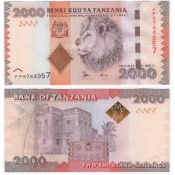 (42b) Tanzania. 2010-15. 2000 Shillings (SC)