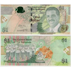 (71Aa) Bahamas. 2015. 1 Dollar (SC)
