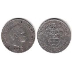 (193.2) Colombia. 1922. 50 Centavos (MBC) (Plata)