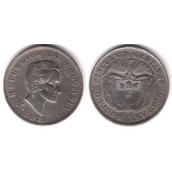(193.2) Colombia. 1933M. 50 Centavos (EBC) (Plata)