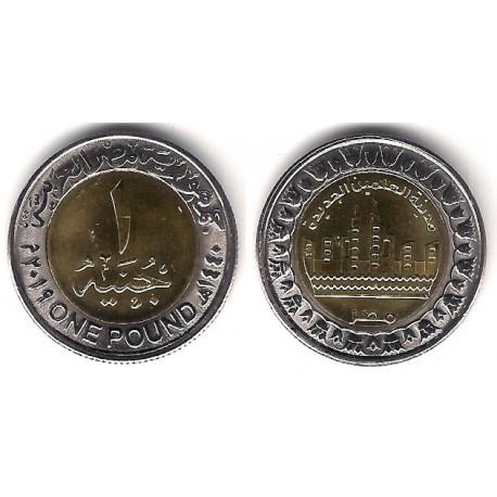 Egipto. 2019. 1 Pound (SC)