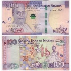 (41) Nigeria. 2014. 100 Naira (SC)