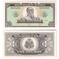 (253) Haití. 1989. 1 Gourde (SC)