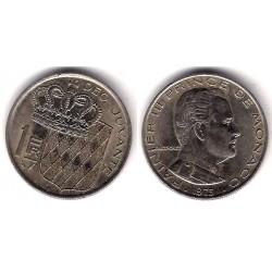 (140) Mónaco. 1975. 1 Franc (EBC)