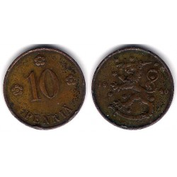 (24) Finlandia. 1940. 10 Pennia (MBC-)