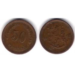 (26a) Finlandia. 1942. 50 Pennia (MBC)