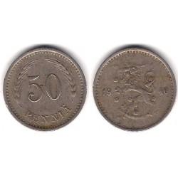 (26) Finlandia. 1940. 50 Pennia (BC)