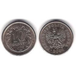 (Y279) Polonia. 2000. 10 Groszy (EBC)