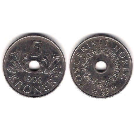 (463) Noruega. 1998. 5 Kroner (MBC)