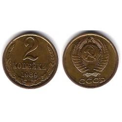 (Y127a) Unión Soviética. 1969. 2 Kopeks (EBC)