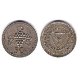 (41) Chipre. 1963. 50 Mils (MBC)