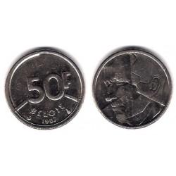 (169) Bélgica. 1987. 50 Francs (EBC)