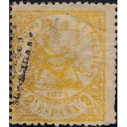 (143) 1874. 2 Céntimos. Alegoría de la Justicia (Usado)