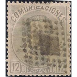 (122) 1872. 12 Céntimos. Amadeo I (Usado)