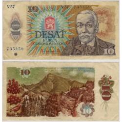 (94c) Checoslovaquia. 1986. 10 Korun (BC+)