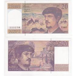 (151f) Francia. 1992. 20 Francs (SC)