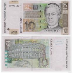 (38a) Croacia. 2001. 10 Kuna (SC)