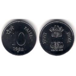 (40.2) India. 1988C. 10 Paise (SC)