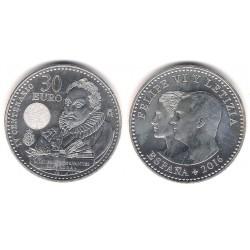 España. 2016. 30 Euro (SC) (Plata)