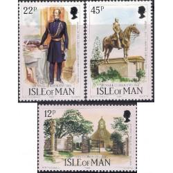 (291 a 293) Isla de Man. 1985. Serie Completa. A. D. Theobald (Nuevo)