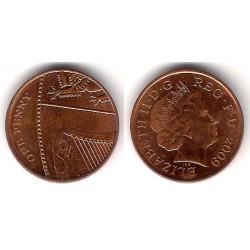 (1107) Gran Bretaña. 2009. 1 Penny (MBC)