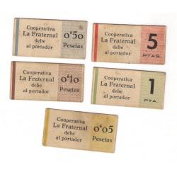 Cooperativa La Fraternal. San Ginés de Vilassar. Serie Completa (MBC)