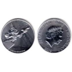 Niue. 2019. 2 Dollars (SC) (Plata)