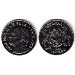 (20) Botswana. 1988. 5 Pula (MBC+)