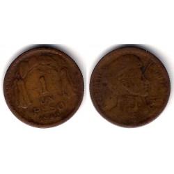 (179) Chile. 1942. 1 Peso (BC-)