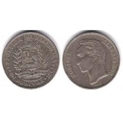 (Y42) Venezuela. 1967. 1 Bolivar (MBC-)