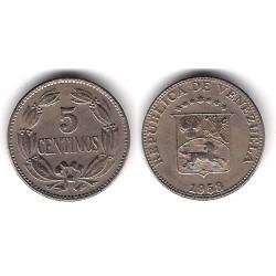(Y38.1) Venezuela. 1958. 5 Céntimos (MBC+)