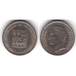 (Y40) Venezuela. 1965. 25 Céntimos (MBC)