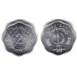 (34) Pakistán. 1975. 2 Paisa (SC)