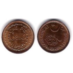 (11) Pakistán. 1956. 1 Pie (SC)