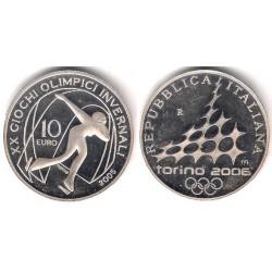 Italia. 2005. 10 Euro (EBC+) (Plata)