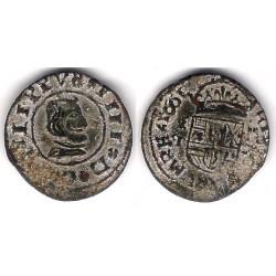Felipe IV. 1661. 16 Maravedi (BC-) Ceca de Segovia