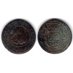 Felipe V. 1720. 2 Maravedi (BC) Ceca de Burgos