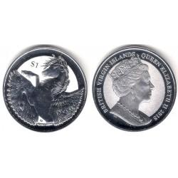 Islas Vírgenes Británicas. 2018. 1 Dollar (Proof) (Plata)